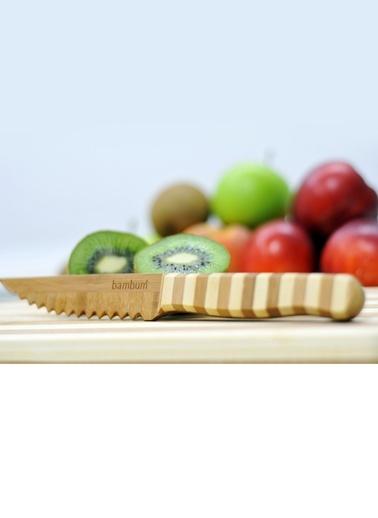 Tırtıklı Sebze Ve Meyve Bıçağı-Bambum